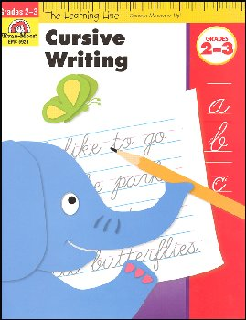 Learning Line Language Arts - Cursive Writing 2-3