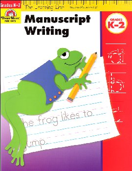 Learning Line Language Arts - Manuscript Writing K-2