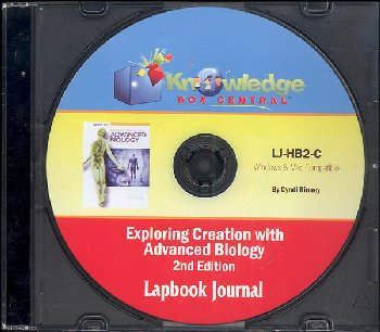 Apologia Exploring Creation with Advanced Biology: Human Body Lapbook CD
