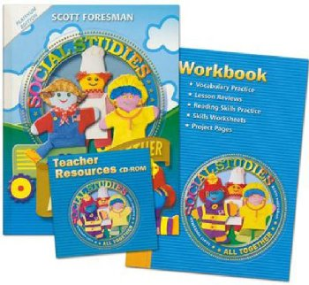 Scott Foresman Social Studies Homeschool Bundle Grade 1