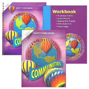 Scott Foresman Social Studies Homeschool Bundle Grade 3