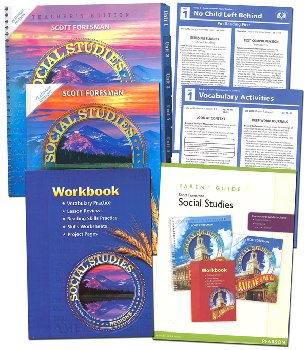 Scott Foresman Social Studies Homeschool Bundle Grade 4