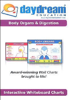 Science Interactive CD-ROM - Body Organs & Digestion
