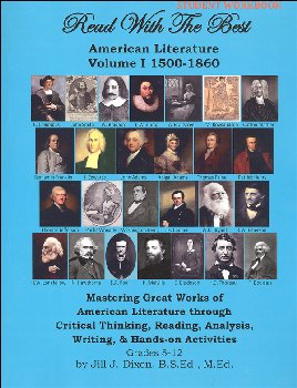 Read With the Best - American Literature I: 1500-1860 Student Workbook