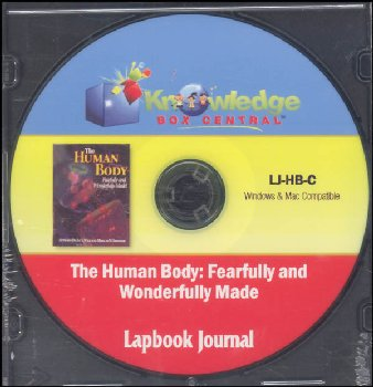 Apologia Human Body: Fearfully & Wonderfully Made Lapbook Journal CD