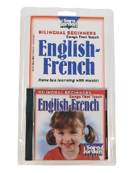 Bilingual Beginners English-French Book & CD