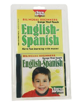 Bilingual Beginners English-Spanish Book & CD