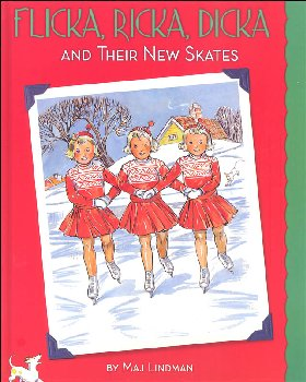 Flika, Ricka, Dicka and Their New Skates - with Paper Dolls