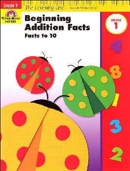 Learning Line Math - Beginning Addition Grade 1