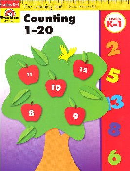 Learning Line Math - Counting 1-20 Grades K-1