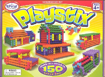 Playstix Construction Toy - 150 Piece Set