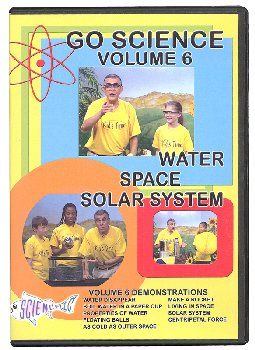 Go Science Volume 6 Water, Space, and Solar System DVD