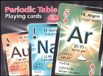 Periodic Table Playing Cards (Double Deck)