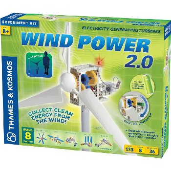 Wind Power 2.0 - Electricity Generating Turbines