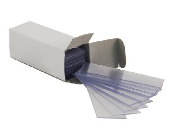 Microscope Slides, Plastic, pack of 144