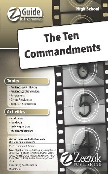 Z Guide to the Movies - Ten Commandments CD-ROM