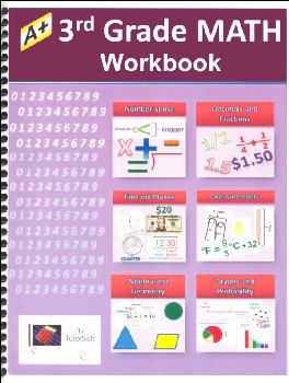 3rd Grade MATH Workbook