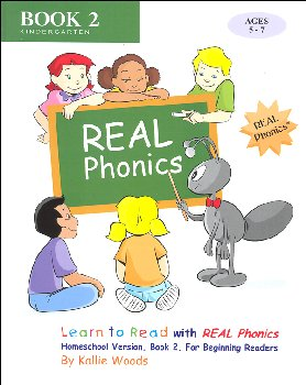 Learn to Read Real Phonics Home School Version Book 2