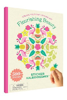 Sticker Kaleidoscope Book -Flourishing Beauty