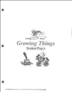 Growing Things Student Pages
