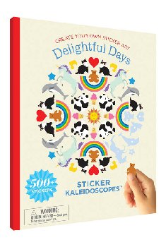 Sticker Kaleidoscope Book - Delightful Days