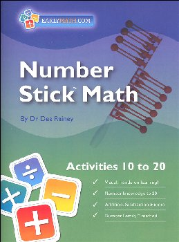 Number Stick Activities 10 To 20