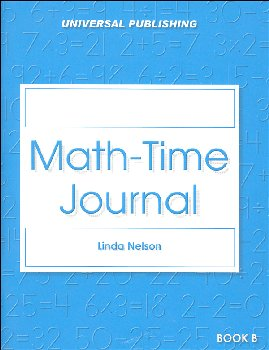 Math Time Journal - Book B, Grades 1-3