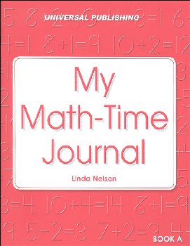 My Math Time Journal - Book A, Grades K-1