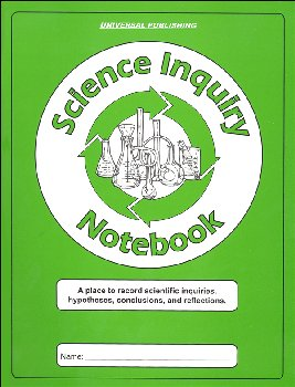 Science Inquiry Notebook - Grades 3-12