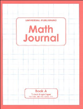 Math Journal - Book A, Grades 1-3