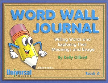 Word Wall Journal Grades K-3