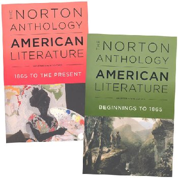 Norton Anthology of American Literature Shorter Ninth Edition