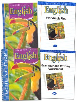 Houghton Mifflin English: Grade 4 Homeschool Kit