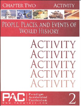 World History - Chapter 2 Activities