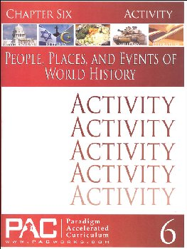 World History - Chapter 6 Activities