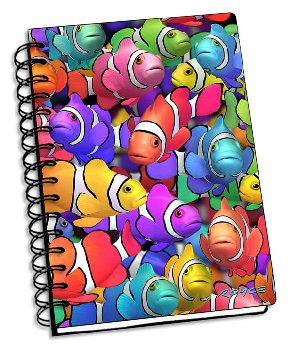 "Clown School 3D Notebook 4"" x 6"""