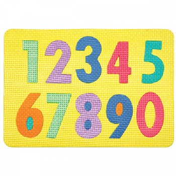 Wonderfoam Magnetic Numeral Puzzle Set