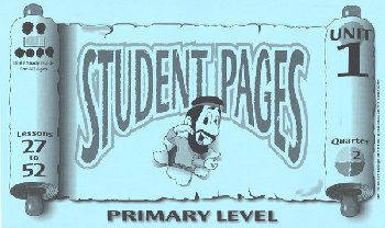 Primary Student Pages for Lessons 027-52