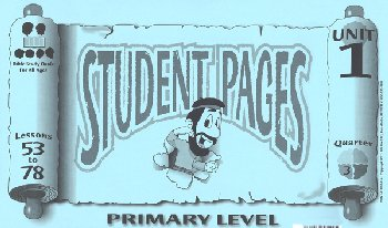 Primary Student Pages for Lessons 053-78