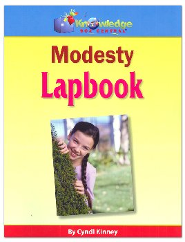Modesty Lapbook Printed
