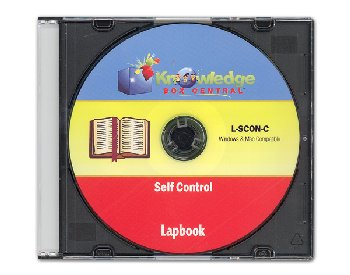 Self-Control Lapbook CD