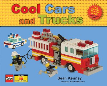 Cool Cars and Trucks Lego Book