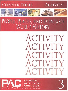 World History - Chapter 3 Activities