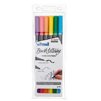 LePlume II Brush Lettering Bold Set - Pack of 6