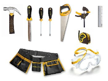 Stanley Jr. 10 Piece Tool Set