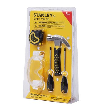 Stanley Jr. 5 Piece Tool Set