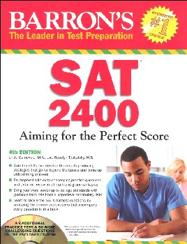 SAT 2400 Aiming for the Perfect Score 4th Edition Book with CD-ROM