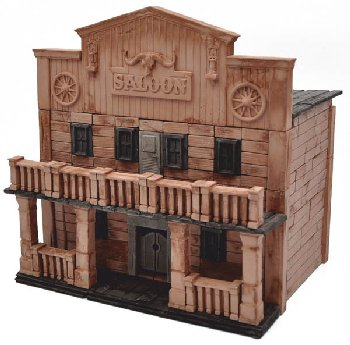 Ghost Town Saloon Construction Set