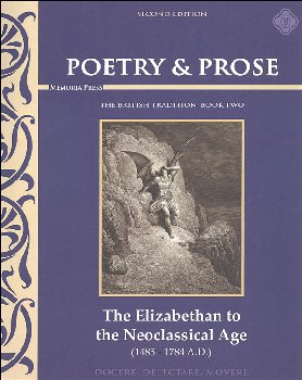 Poetry & Prose Book Two: The Elizabethan to the Neo-Classical Age Second Edition