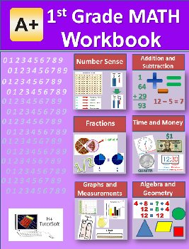 1st Grade MATH Workbook